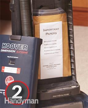 Vacuum Cleaner Stash