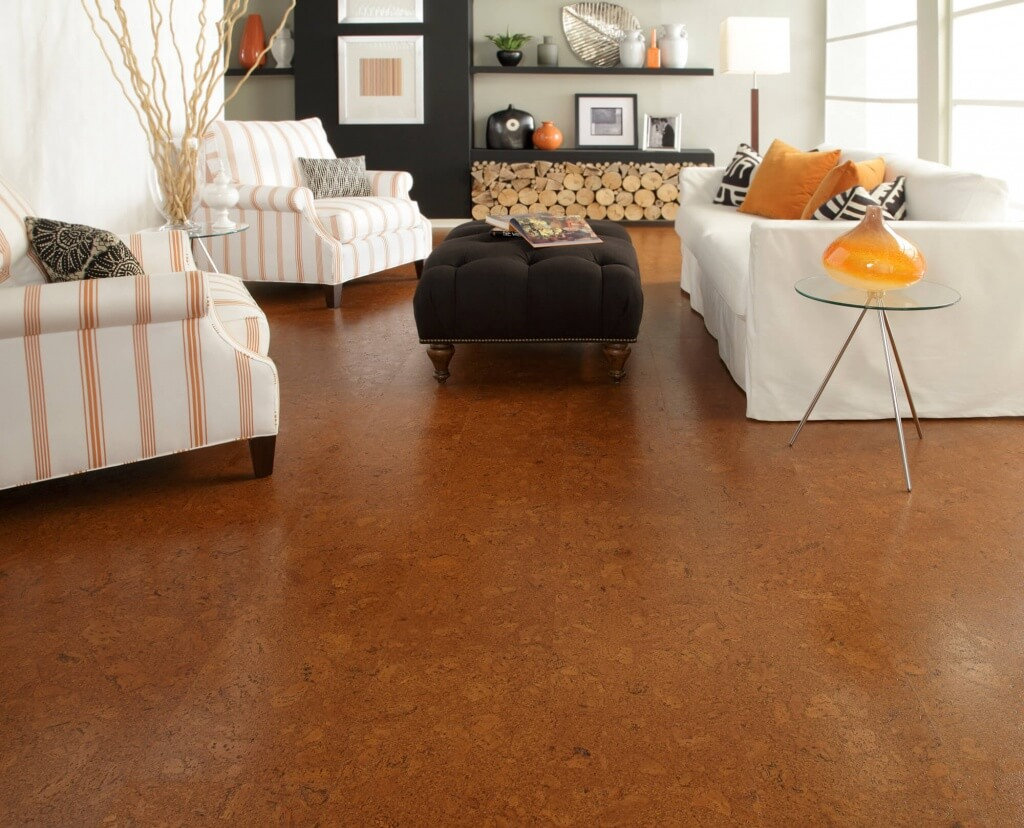 7 eco friendly flooring options for your apartment for Sustainable cork flooring