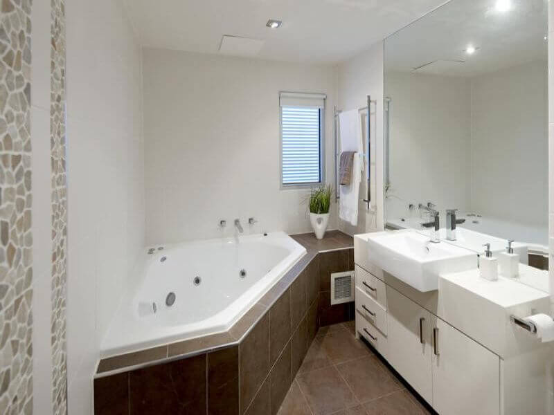 Bathroom remodel cost guide for your apartment apartment geeks - Corner tub bathrooms design ...