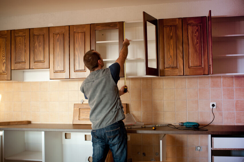 kitchen cabinet install small kitchen remodel cost guide apartment geeks - Cost To Install New Kitchen Cabinets