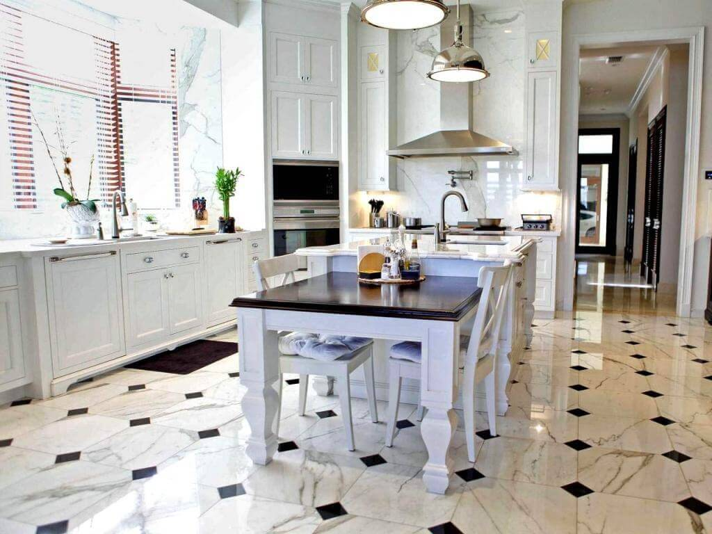 Floor For Kitchen Small Kitchen Remodel Cost Guide Apartment Geeks