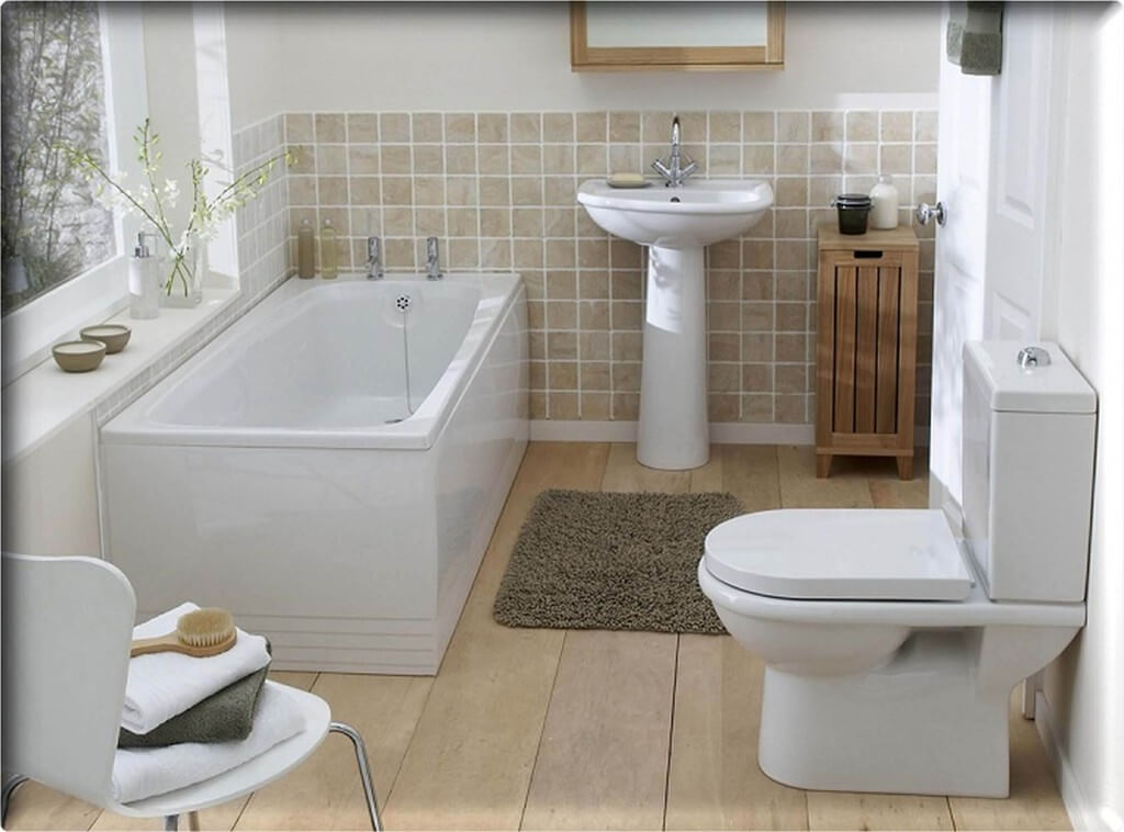 how much does it cost to remodel a small bathroom - Apartment Bathroom