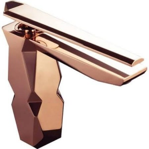 Rose Gold modern bathroom faucet