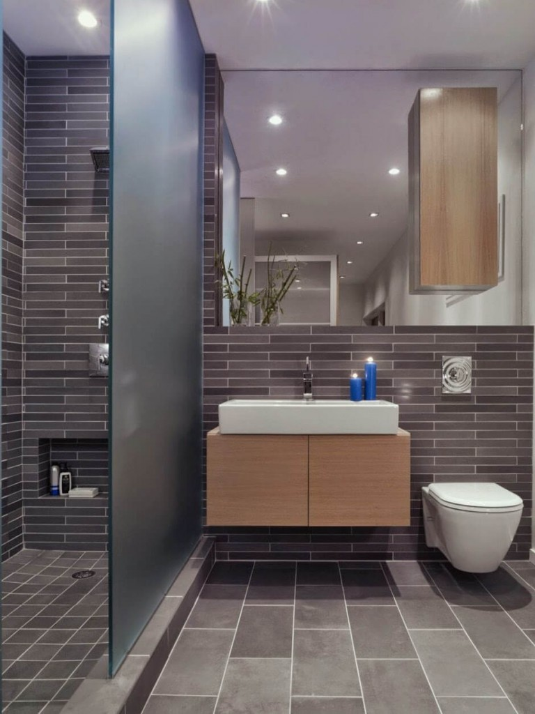 Big Ideas For A Small Bathroom Remodel Apartment Geeks - Modern kitchen and bathroom designs