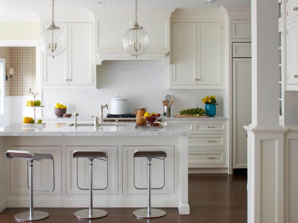 Hidden Remodeling Costs. White Modern Kitchen