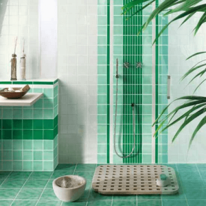 Bright Bathroom Tile 1