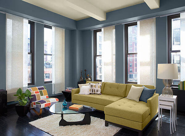 Interior painting cost for 2017 apartment geeks - Blue living room color schemes ...