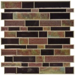 Modern Long Sticks (black and brown) backsplash tile - $17.69