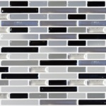 Peel & Impress Adhesive Vinyl Wall Tiles - $23