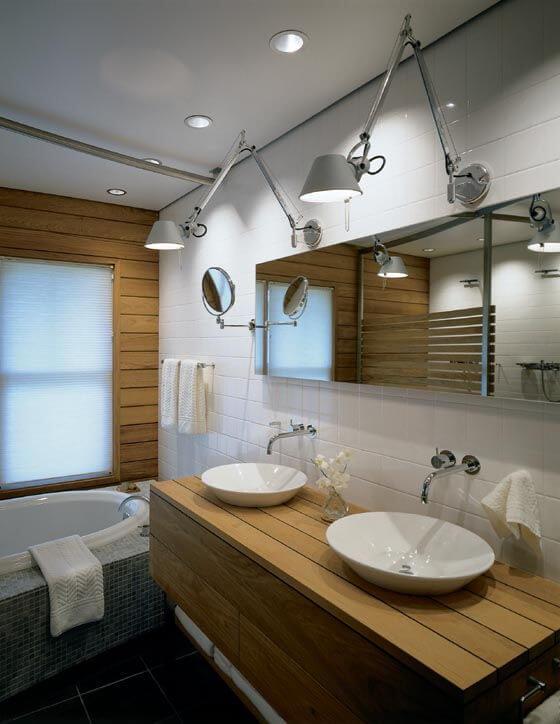 Architect S Bathroom Lamps Mod