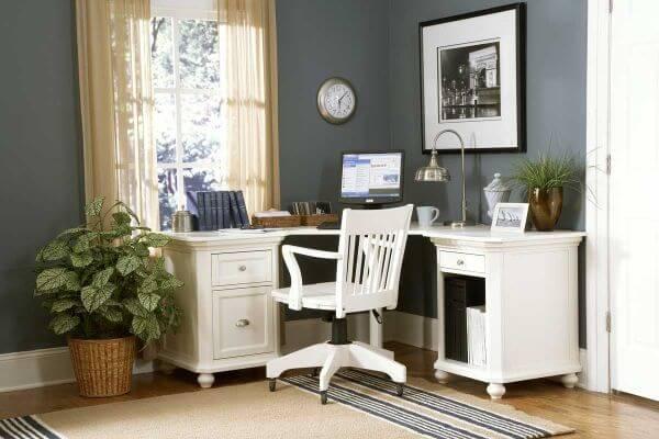Small Compact Corner Mini Office mod