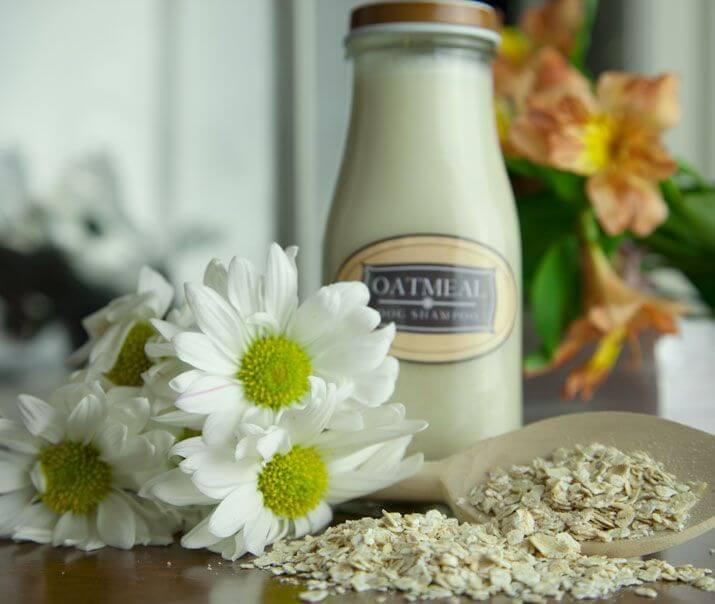 make shampoo out of oatmeal and baking soda mod